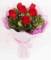 9 adet kaliteli görsel kirmizi gül  Giresun anneler günü çiçek yolla