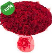 Özel mi Özel buket 101 adet kırmızı gül  Giresun ucuz çiçek gönder