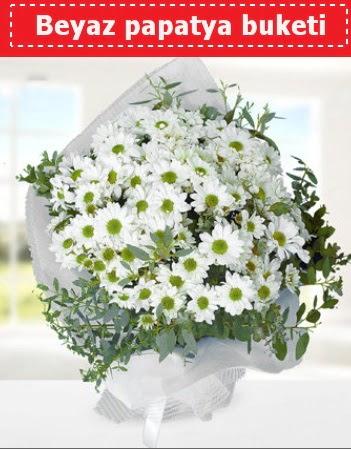 Beyaz Papatya Buketi  Giresun çiçek , çiçekçi , çiçekçilik