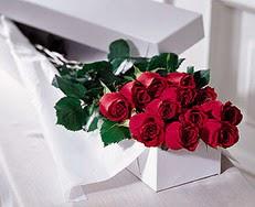 Giresun çiçek online çiçek siparişi  özel kutuda 12 adet gül