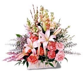 Giresun yurtiçi ve yurtdışı çiçek siparişi  mevsim çiçekleri sepeti özel tanzim