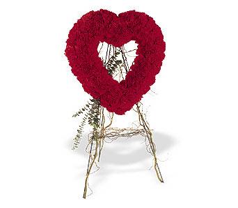 Giresun online çiçekçi , çiçek siparişi  karanfillerden kalp pano