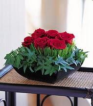 Giresun yurtiçi ve yurtdışı çiçek siparişi  10 adet kare mika yada cam vazoda gül tanzim