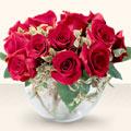 Giresun çiçekçi mağazası  mika yada cam içerisinde 10 gül - sevenler için ideal seçim -
