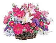 küçük karisik özel sepet   Giresun çiçekçi mağazası