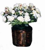 yapay karisik çiçek sepeti   Giresun çiçek gönderme
