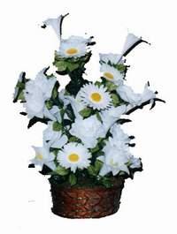 yapay karisik çiçek sepeti  Giresun çiçek gönderme sitemiz güvenlidir