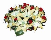 yapay karisik çiçek sepeti   Giresun İnternetten çiçek siparişi
