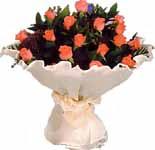 11 adet gonca gül buket   Giresun uluslararası çiçek gönderme