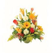 karisik renkli çiçekler tanzim   Giresun uluslararası çiçek gönderme