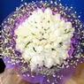 71 adet beyaz gül buketi   Giresun çiçek servisi , çiçekçi adresleri