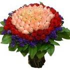 71 adet renkli gül buketi   Giresun çiçek mağazası , çiçekçi adresleri