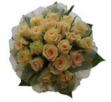 12 adet sari güllerden buket   Giresun çiçek satışı