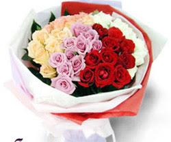 SEVENLERE ÖZEL 51 ADET GÜL  Giresun online çiçekçi , çiçek siparişi