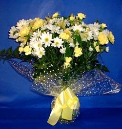 Giresun kaliteli taze ve ucuz çiçekler  sade mevsim demeti buketi sade ve özel