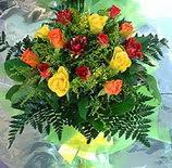 13 adet karisik gül buketi demeti   Giresun çiçek satışı