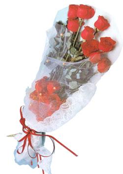 11 adet kirmizi güller buket tanzimi   Giresun yurtiçi ve yurtdışı çiçek siparişi