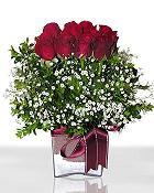 Giresun çiçek servisi , çiçekçi adresleri  11 adet gül mika yada cam - anneler günü seçimi -