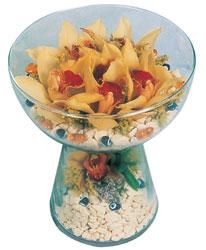 Giresun yurtiçi ve yurtdışı çiçek siparişi  Cam içerisinde 4 adet kandil orkide