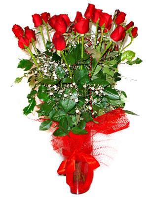 Giresun çiçek yolla  Çiçek gönder 11 adet kirmizi gül