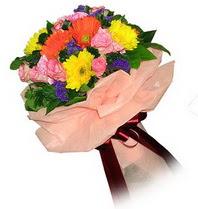 Giresun güvenli kaliteli hızlı çiçek  Karisik mevsim çiçeklerinden demet