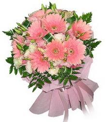 Giresun çiçekçi telefonları  Karisik mevsim çiçeklerinden demet