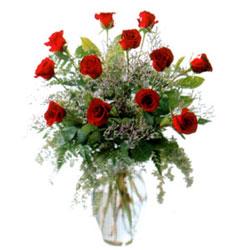 Vazo içerisinde 11 kirmizi gül  Giresun çiçek gönderme sitemiz güvenlidir