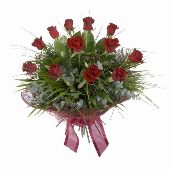 Etkileyici buket 11 adet kirmizi gül buketi  Giresun online çiçekçi , çiçek siparişi