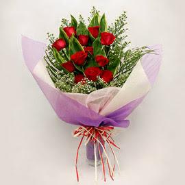 çiçekçi dükkanindan 11 adet gül buket  Giresun güvenli kaliteli hızlı çiçek