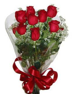 Çiçek sade gül buketi 7 güllü buket  Giresun çiçek yolla