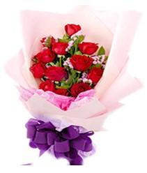 7 gülden kirmizi gül buketi sevenler alsin  Giresun uluslararası çiçek gönderme