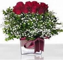 Giresun online çiçekçi , çiçek siparişi  mika yada cam vazo içerisinde 7 adet gül