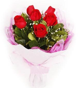 Giresun hediye çiçek yolla  kırmızı 6 adet gülden buket