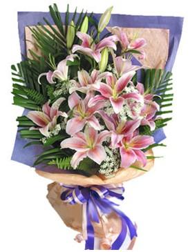 7 dal kazablankadan görsel buket  Giresun çiçekçiler