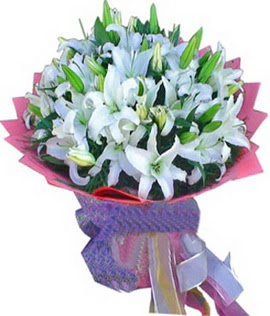 7 dal cazablanca görsel buketi  Giresun güvenli kaliteli hızlı çiçek