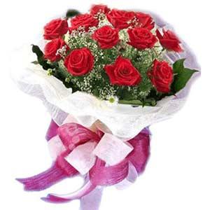 Giresun çiçek online çiçek siparişi  11 adet kırmızı güllerden buket modeli