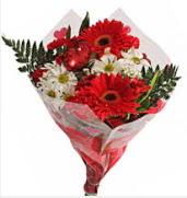 Mevsim çiçeklerinden görsel buket  Giresun çiçek yolla , çiçek gönder , çiçekçi