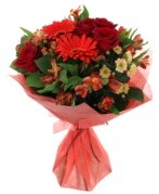 karışık mevsim buketi  Giresun İnternetten çiçek siparişi