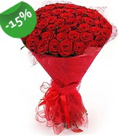 51 adet kırmızı gül buketi özel hissedenlere  Giresun yurtiçi ve yurtdışı çiçek siparişi