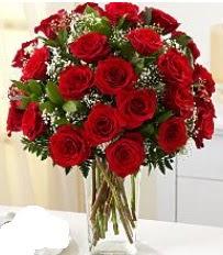 Vazo içerisinde 33 adet kırmızı gül  Giresun çiçek gönderme