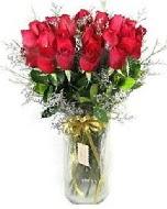 27 adet vazo içerisinde kırmızı gül  Giresun cicekciler , cicek siparisi