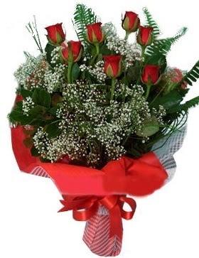 7 kırmızı gül buketi  Giresun çiçek siparişi sitesi