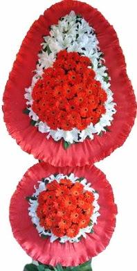 Giresun çiçek yolla  Çift katlı kaliteli düğün açılış sepeti