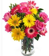 Vazoda Karışık mevsim çiçeği  Giresun güvenli kaliteli hızlı çiçek