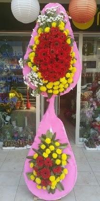 Çift katlı düğün nikah açılış çiçek modeli  Giresun çiçek yolla , çiçek gönder , çiçekçi