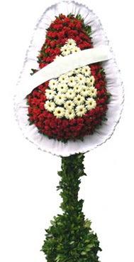 Çift katlı düğün nikah açılış çiçek modeli  Giresun cicekciler , cicek siparisi
