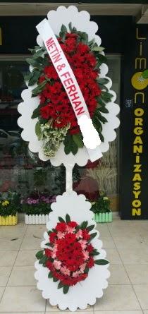 Çift katlı düğün nikah çiçeği modeli  Giresun yurtiçi ve yurtdışı çiçek siparişi