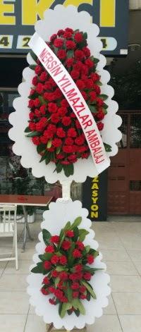Çift katlı düğün nikah çiçeği modeli  Giresun kaliteli taze ve ucuz çiçekler