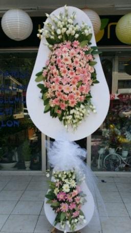 Çift katlı özel şahane sepet çiçeği  Giresun hediye sevgilime hediye çiçek
