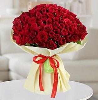 101 adet kırmızı gül buketi koca demet  Giresun İnternetten çiçek siparişi